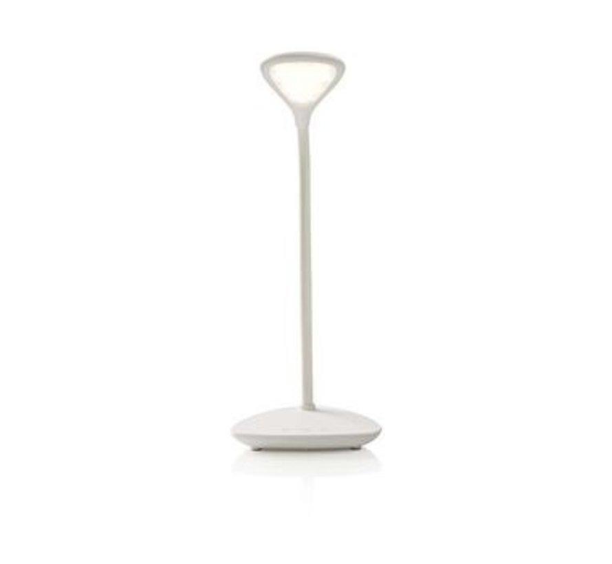 Dimbare LED-tafellamp | Aanraakbediening | 3 lichtmodi | Oplaadbare batterij | 250 lm