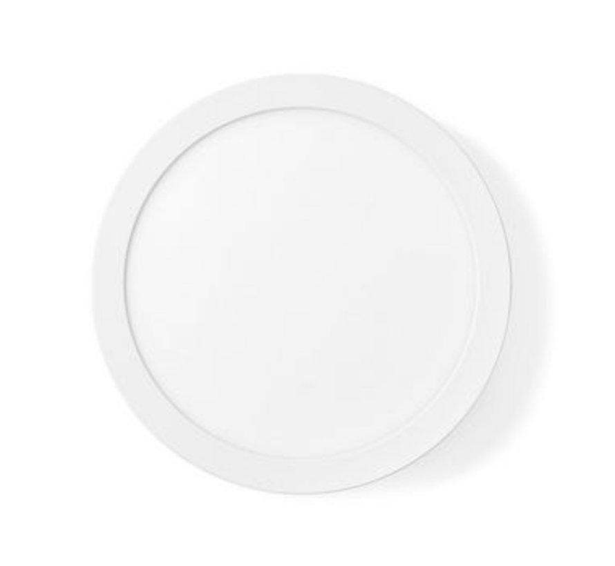 Wi-Fi Smart Plafondlamp   Rond   ø 30 cm   Warm tot Koel Wit   1400 lm   18 W   Slank Design   Aluminium