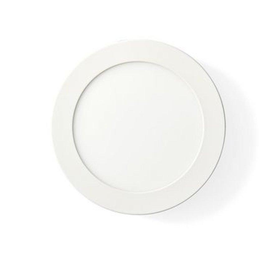 Wi-Fi Smart Plafondlamp | Rond | Diameter 17 cm | Warm tot Koel Wit | 800 lm | 12 W | Slank Design | Aluminium