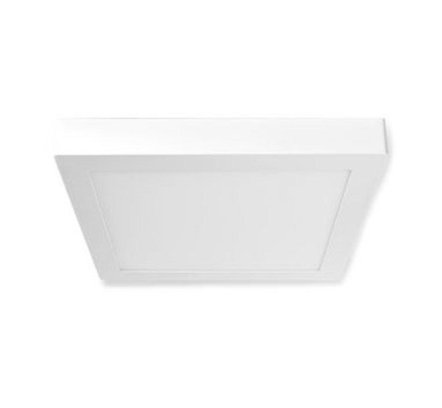 Wi-Fi Smart Plafondlamp | Vierkant | 30 x 30 cm | Warm tot Koel Wit | Full Colour (RGB) | 1400 lm | 18 W | Slank Design | Aluminium