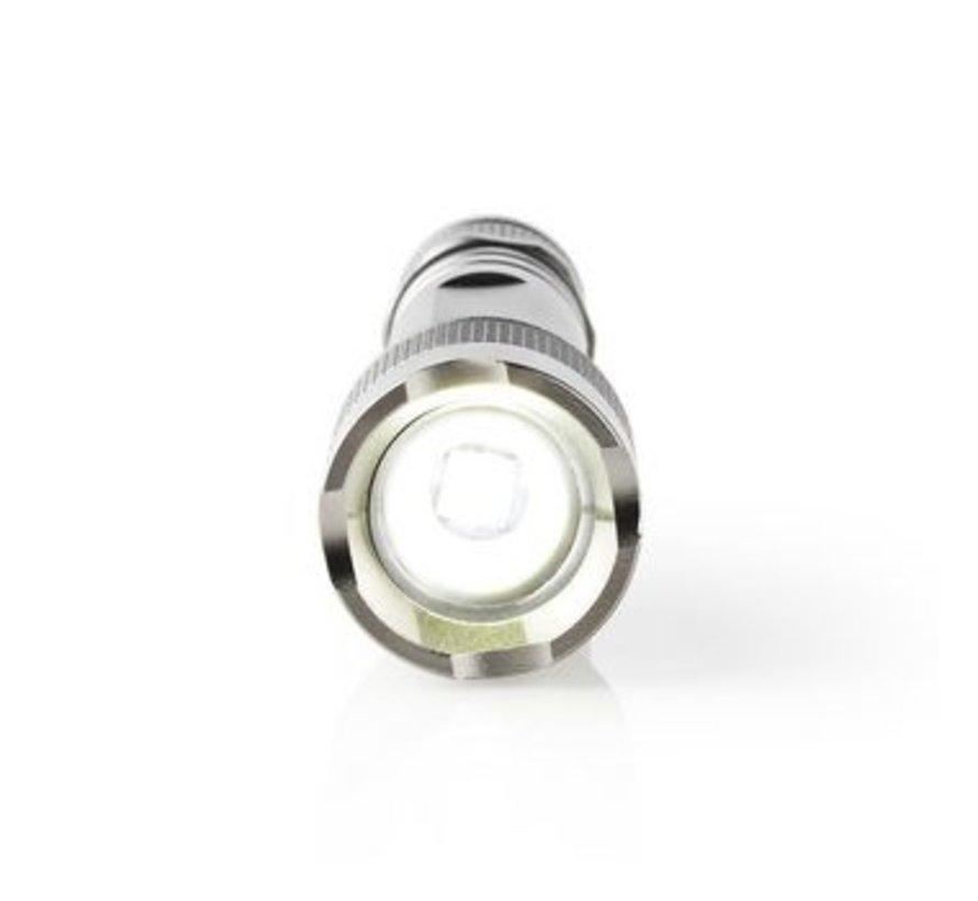 LED-Zaklamp | 3 W | 150 lm | IPX5 | Grijs