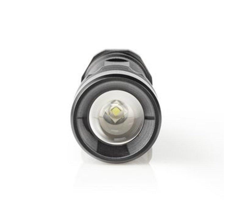 LED-Zaklamp | 3 W | 180 lm | IPX7 | Zwart