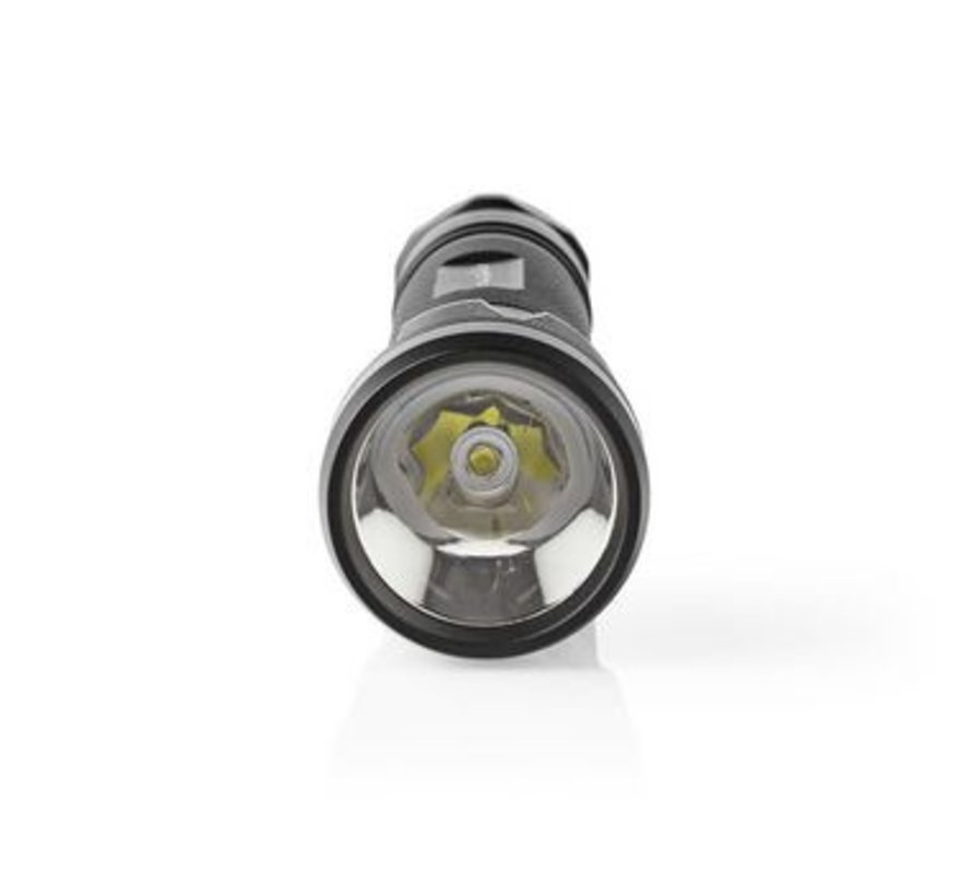 LED-Zaklamp | 10 W | 500 lm | IPX7 | Zwart