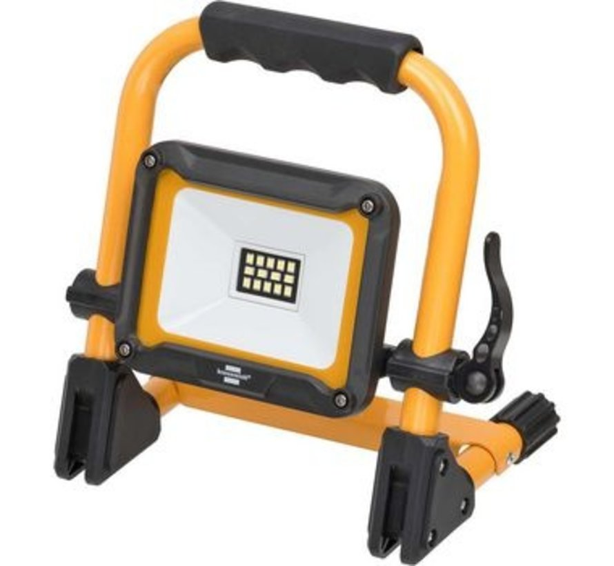 Mobiele LED Floodlight Geel / Zwart