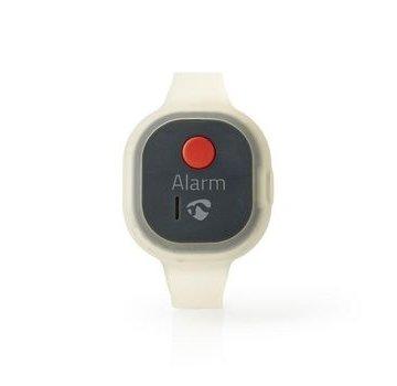 Nedis Persoonlijk veiligheidsalarm | Waterdicht | Ontwerp met polsbandje | ≥ 85dB-alarm | Knipperende led