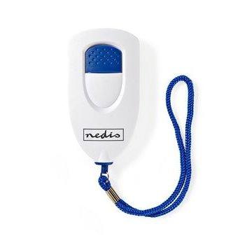 Nedis Persoonlijk veiligheidsalarm | Lichtgewicht | ≥ 85dB-alarm | Wit