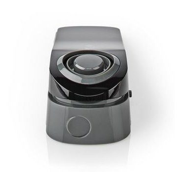 Nedis Lichtgewicht deurstop met waterdetectie Sensor en ingebouwde 85 dB sirene