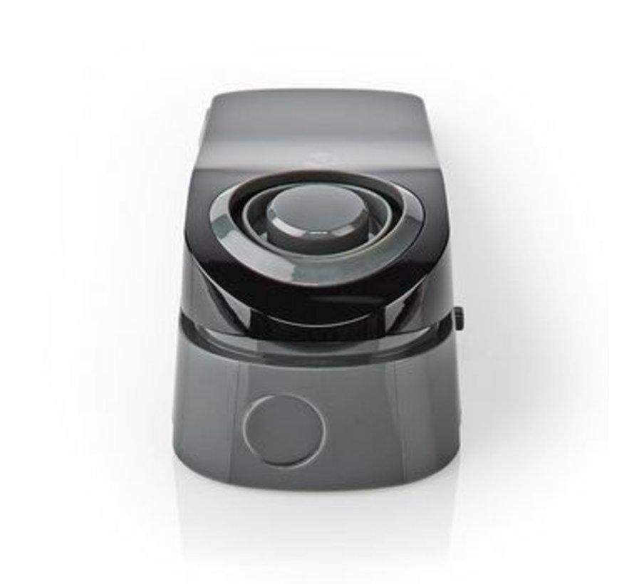 Lichtgewicht deurstop met waterdetectie Sensor en ingebouwde 85 dB sirene