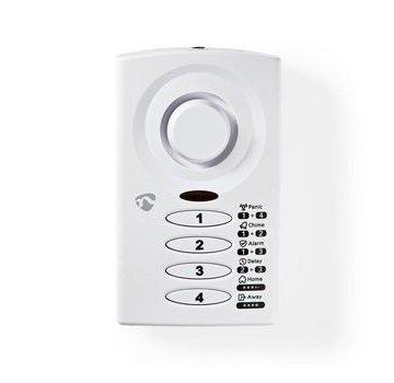 Nedis Keypad bediende deur-/raamalarm met magnetische sensor | 3 Alarmmodi
