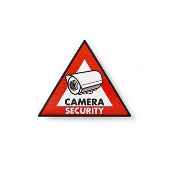 Nedis Waarschuwingssticker | Pictogram camerabeveiliging | Set van 5 stuks