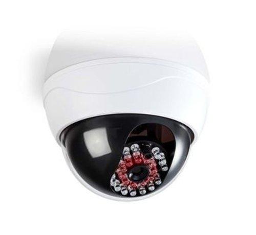 Nedis Dummy Beveiligingscamera | Dome | Batterij Gevoed | Voor binnen | Wit