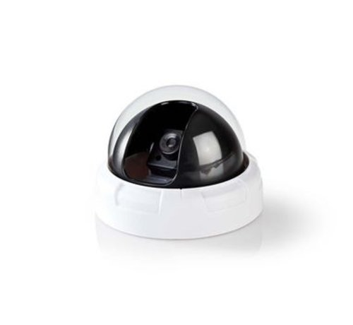 Nedis Dummy beveiligingscamera   Dome   Wit