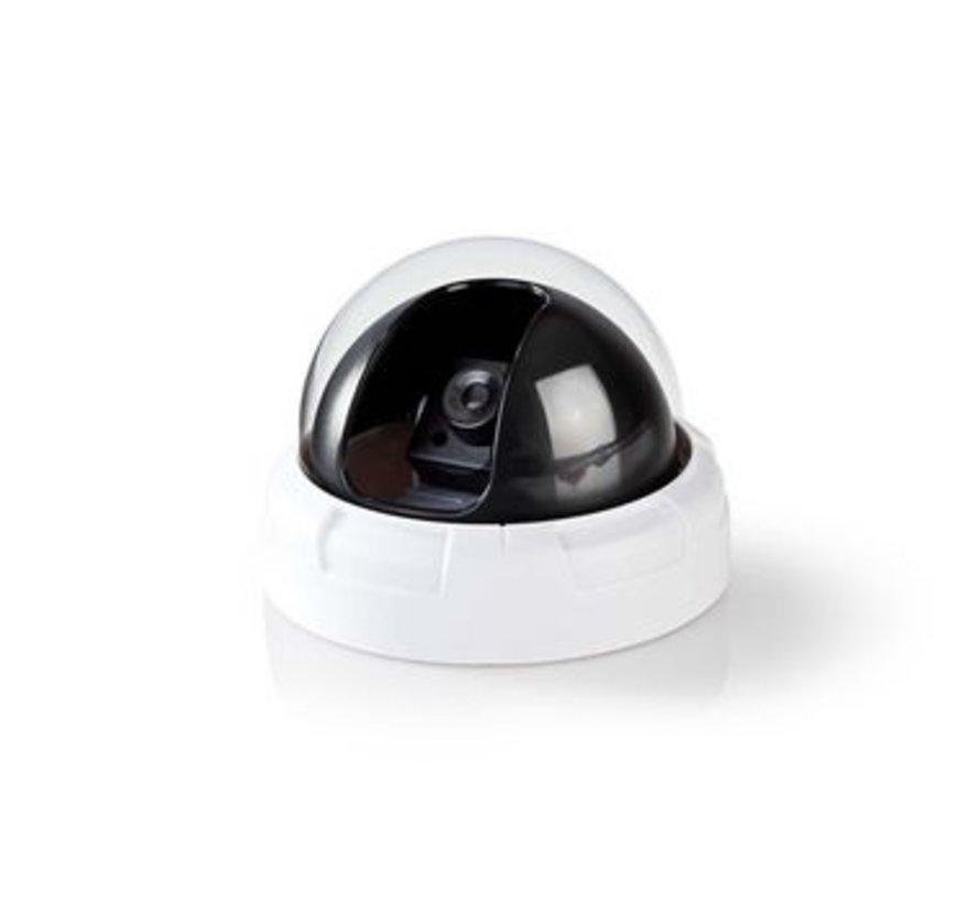 Dummy beveiligingscamera   Dome   Wit