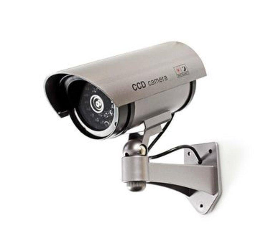 Dummy beveiligingscamera | Bullet | IP44 | Grijs