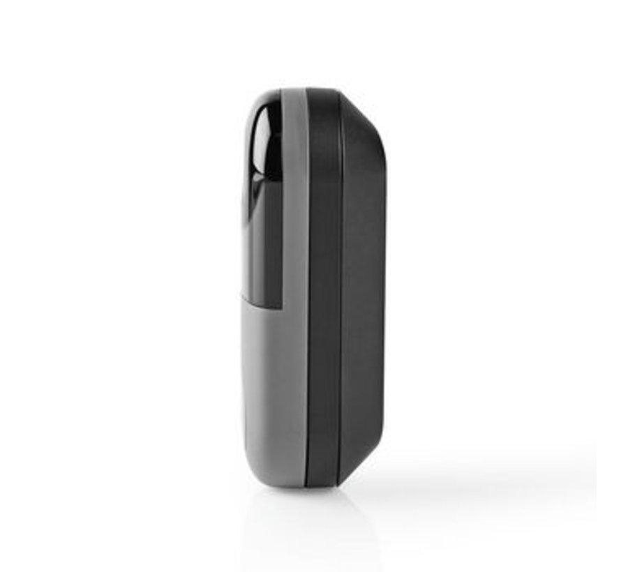SmartLife Videodeurbel   Transformator   Android™ & iOS   Full HD 1080p   Cloud Storage (optioneel) / MicroSD   Functionaliteit voor cloud opslag   IP54   Met motion sensor   Nachtzicht: 10 m   Wi-Fi   Grijs/Zwart