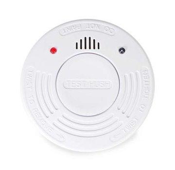 Nedis Rookmelder | Batterij Gevoed | Levenscyclus sensor: 10 Jaar | Meetbereik: 0-3 m | EN14604 / VdS | Met pauzeknop | Met testknop | 85 dB | ABS | Wit