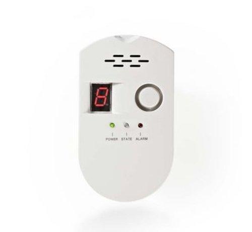 Nedis Gasdetector | EN50194 | LPG/aardgas/steenkool