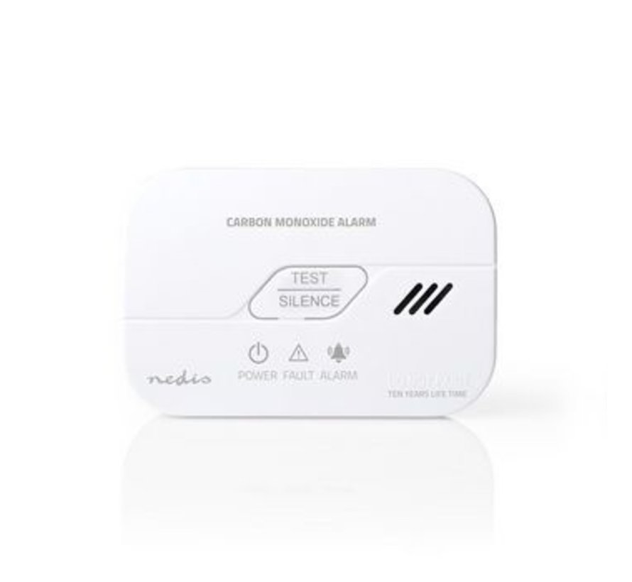 Koolmonoxidemelder | Batterij Bijna Leeg Signaal | Levensduur Sensor 10 Jaar