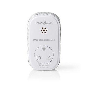 Nedis Koolmonoxidemelder | Klein Design | Sensor en Levensduur Batterij van 10 Jaar