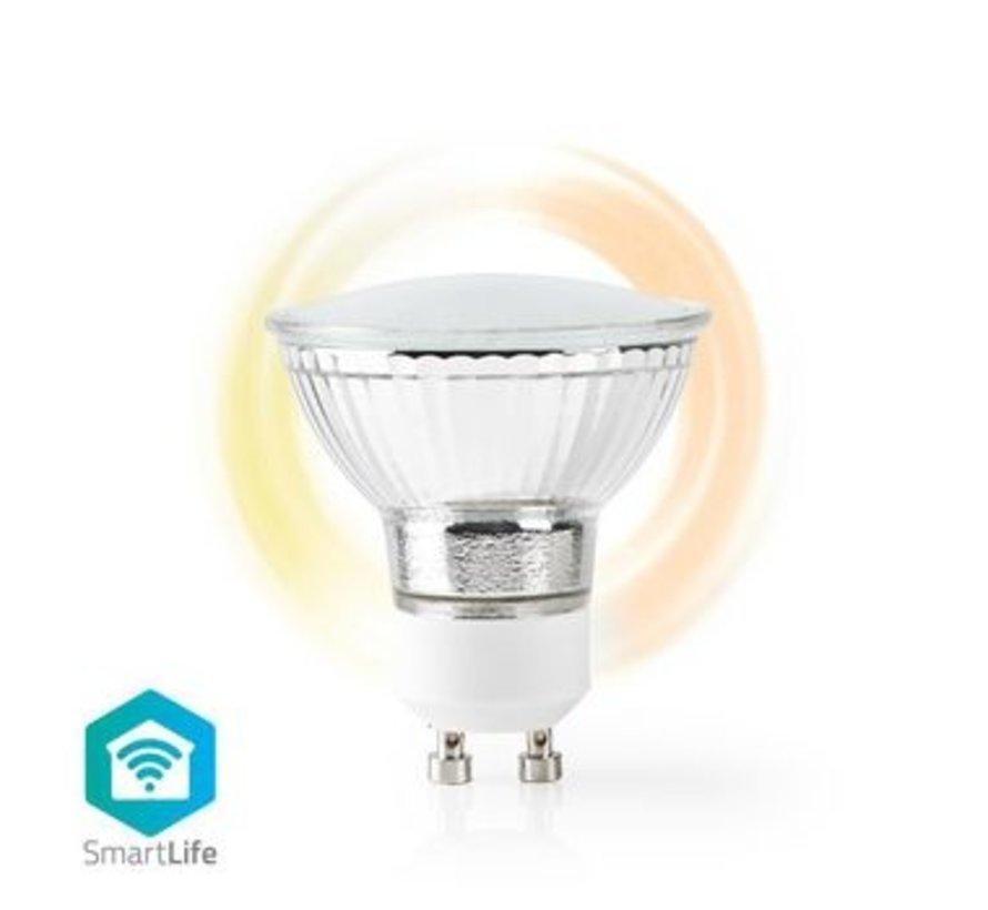 Wi-Fi Smart LED-Lamp   Warm Wit   GU10   Dim naar Extra Warm Wit (1800 K)