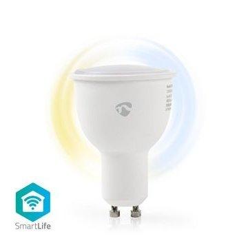 Nedis Wi-Fi smart LED-lamp | Warm- tot Koud-Wit | GU10