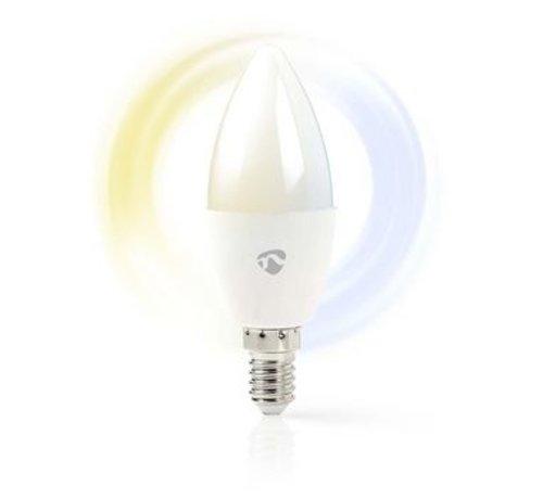 Nedis Wi-Fi smart LED-lamp   Warm- tot Koud-Wit   E14