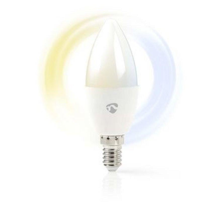 Wi-Fi smart LED-lamp   Warm- tot Koud-Wit   E14