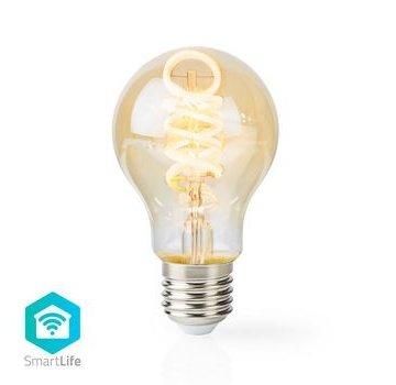 Nedis Wi-Fi Warm tot Koel Wit LED Filamentlamp | Gedraaid | E27 | A60 | 5,5 W | 350 lm