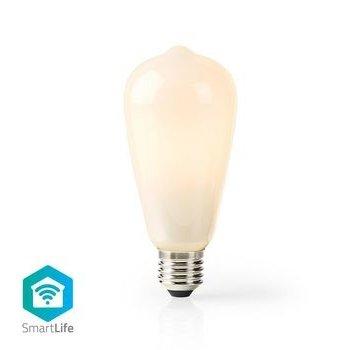 Nedis Wi-Fi Smart LED-Lamp | E27 | ST64 | 5 W | 500 lm | Wit