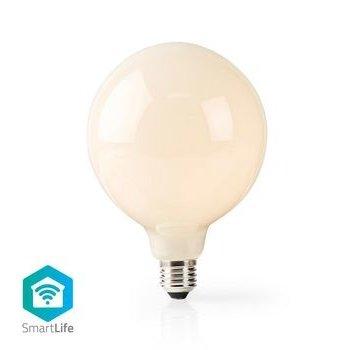 Nedis Wi-Fi Smart LED-Lamp | E27 | 125 mm | 5 W | 500 lm | Wit