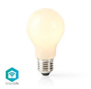 Nedis Wi-Fi Smart LED-Lamp | E27 | A60 | 5 W | 500 lm | Wit