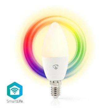 Nedis Wi-Fi smart LED-lamp | Full Colour en Warm-Wit | E14