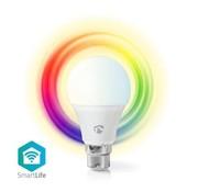 Nedis Wi-Fi smart LED-lamp   Full-Colour en Warm-Wit   B22