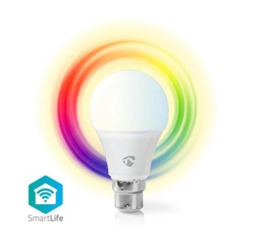 Wi-Fi smart LED-lamp   Full-Colour en Warm-Wit   B22