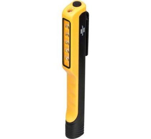 LED Cliplamp HL 100 met clip en magneet 107+10lm