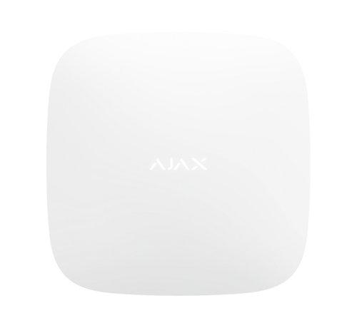 Ajax Hub+ | Wit | 2 x GSM, WiFi en LAN