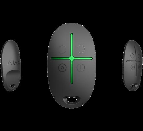 Ajax SpaceControl   Zwart   Draadloze afstandsbediening