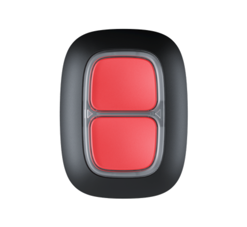 Ajax Dubbele Alarmknop / slimme knop | Zwart | Draadloos