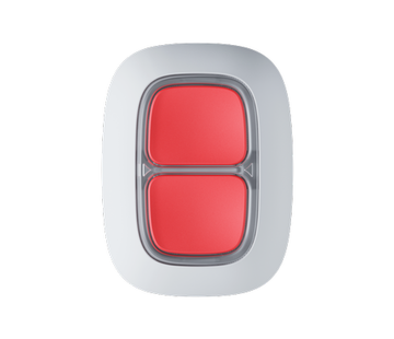 Ajax Dubbele Alarmknop / slimme knop | Wit | Draadloos