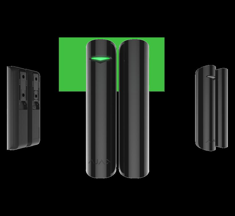DoorProtect Plus   Zwart   MC met tilt- en trilsensor