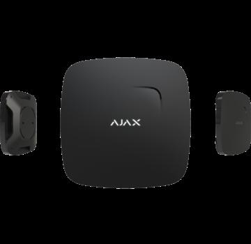 Ajax FireProtect | Zwart | Draadloze optische rookmelder