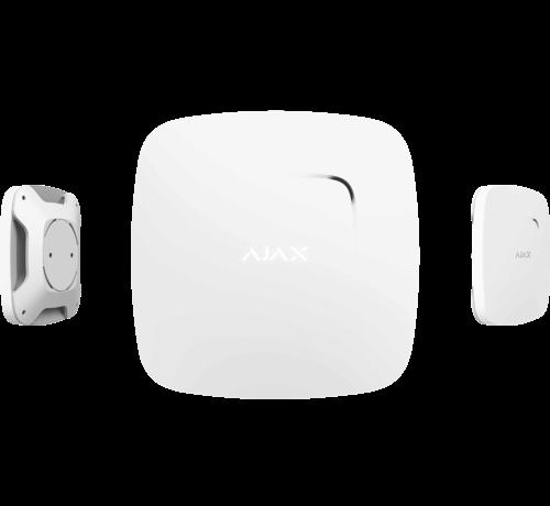 Ajax FireProtect Plus | Wit | Draadloze optische rookmelder met CO melder