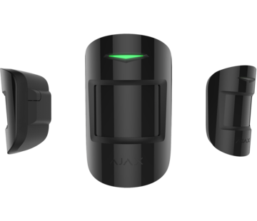 Ajax MotionProtect   Zwart   Draadloze passief infrarood detector