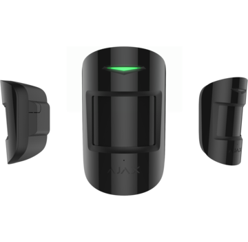 Ajax MotionProtect Plus | Zwart | draadloze PIR Radar