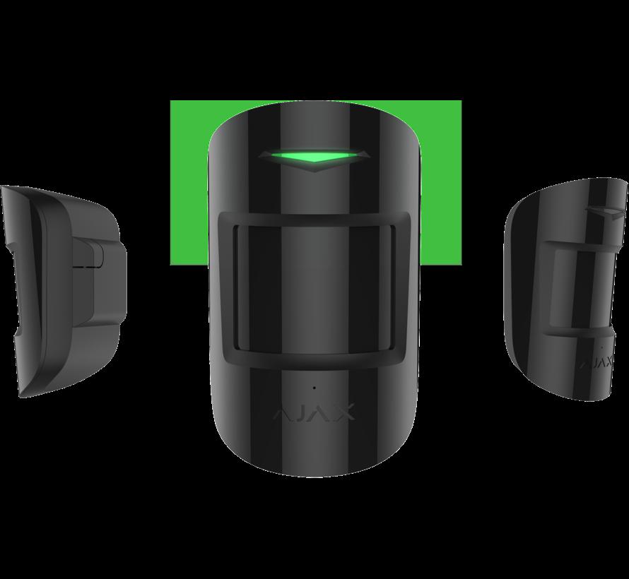 CombiProtect | Zwart | Glasbreuk en bewegingsdetector