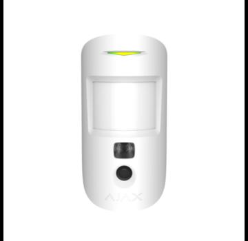 Ajax MotionCam | Wit | Bewegingsdetector met een fotocamera