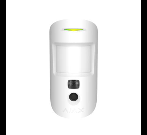 Ajax MotionCam   Wit   Bewegingsdetector met een fotocamera