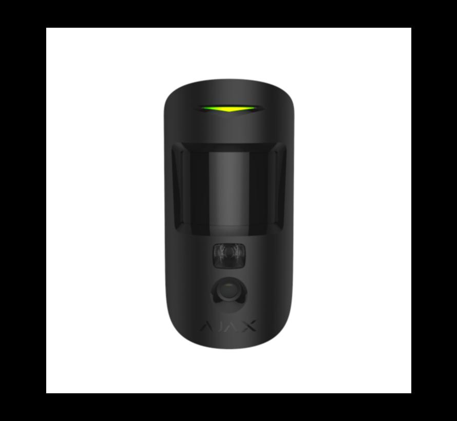 MotionCam | Zwart | Bewegingsdetector met een fotocamera