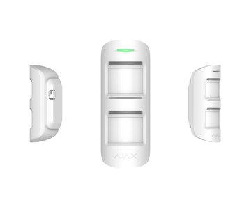 Ajax MotionProtect Outdoor | Wit | Draadloze passief infrarood buiten detector