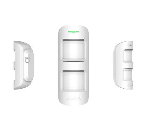Ajax MotionProtect Outdoor   Wit   Draadloze passief infrarood buiten detector